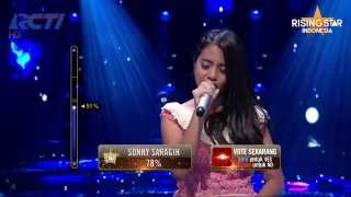Hanin Dhiya Perahu Kertas Maudy Ayunda Rising Star Indonesia Great 8 Eps 20