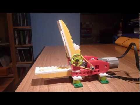 Robótica Educativa: Lego WeDo + Scratch -- Cocodrilo