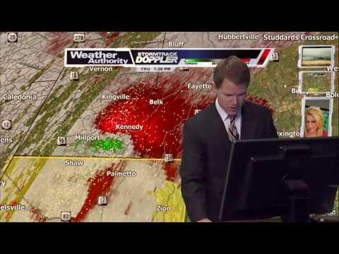 WTVA - 4/11/2013 Shuqualak EF3 Tornado Coverage