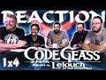 Code Geass 1x4 REACTION!!