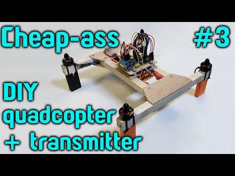 Cheap-ass quadcopter build Part 3 – Frame