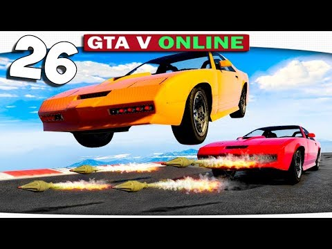 ч.26 Один день из жизни в GTA 5 Online - РАКЕТЫ, ПАРАШЮТЫ, ФЕЙЕРВЕРКИ!! ЧТО ЕЩЁ ДЛЯ СЧАСТЬЯ НУЖНО?))