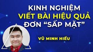 Cách viết bài facebook hiệu quả, ra đơn sấp mặt   Vũ Minh Hiếu - đào tạo bán hàng, marketing online