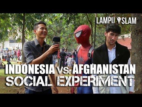 Orang Indonesia Vs. Afghanistan | TANTANGAN RUKUN ISLAM