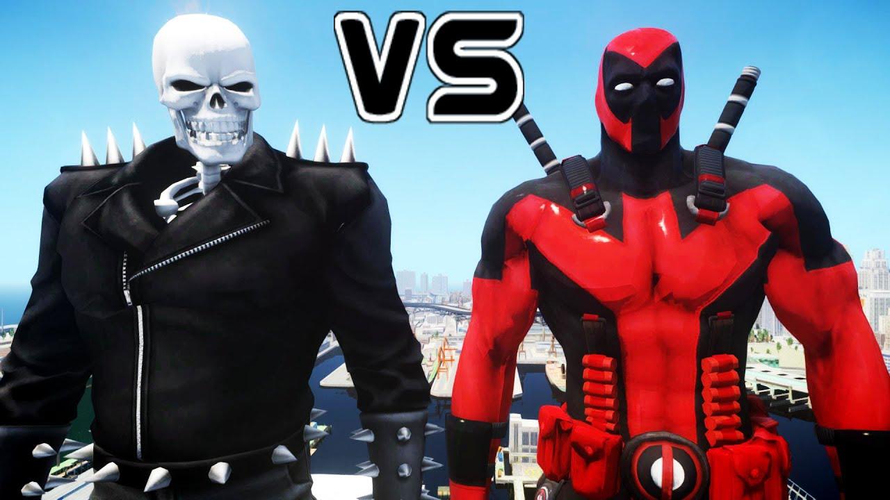 Ghost Rider vs Flash Deadpool vs Ghost Rider