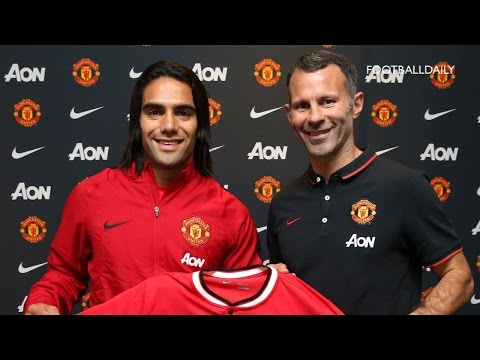 Manchester United unveil new signing Radamel Falcao