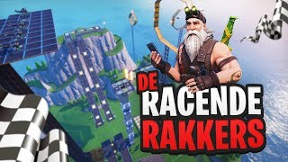 DE RACENDE RAKKERS - Fortnite Creative met Don, Harm, Rudi & Link