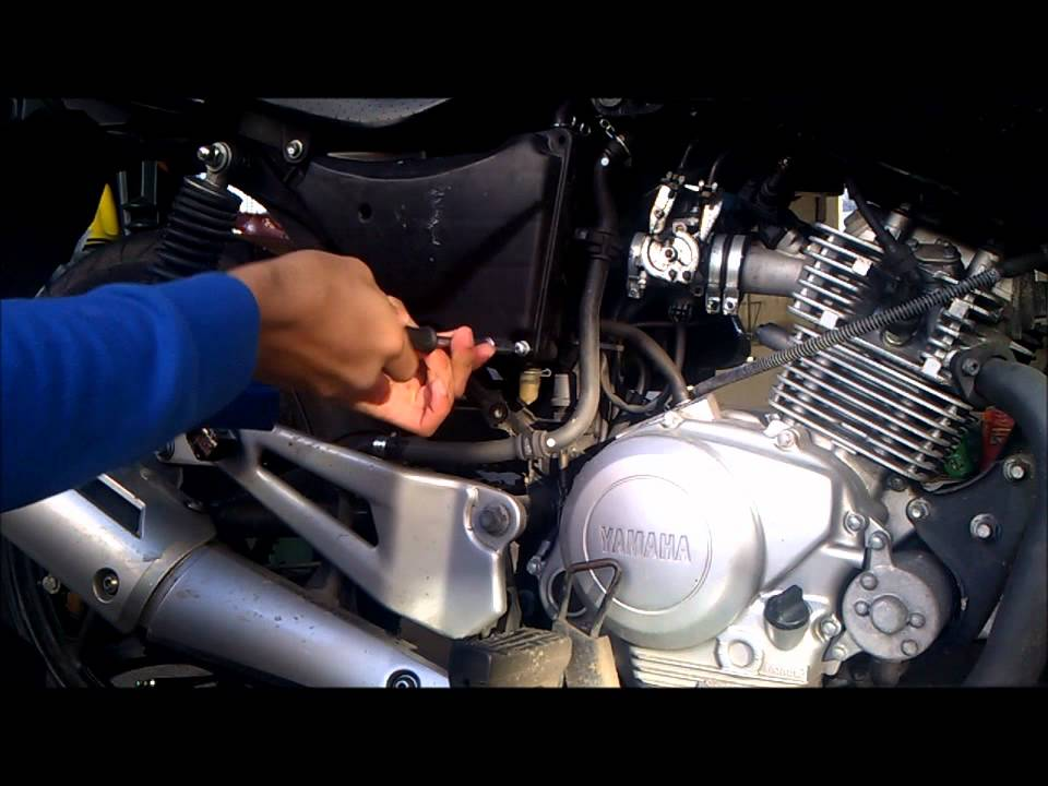 Yamaha R Air Filter Change