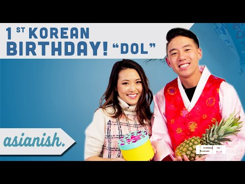 My 1st Korean Birthday