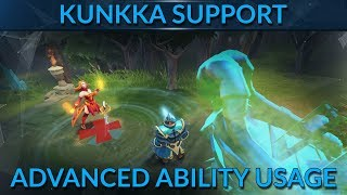 How to ability combo Kunkka like a pro