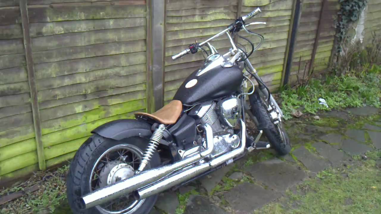 xvs 125 bobber chopper for sale youtube. Black Bedroom Furniture Sets. Home Design Ideas
