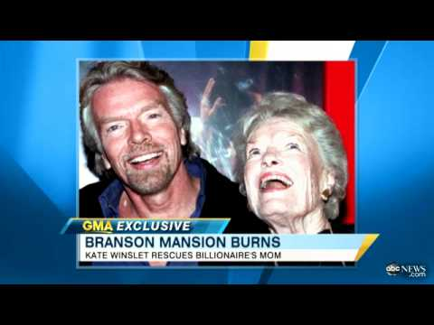 Richard Branson Interview, Explains Details on Necker Island Fire