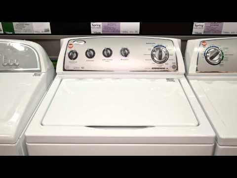 whirlpool auto load sensing washing machine