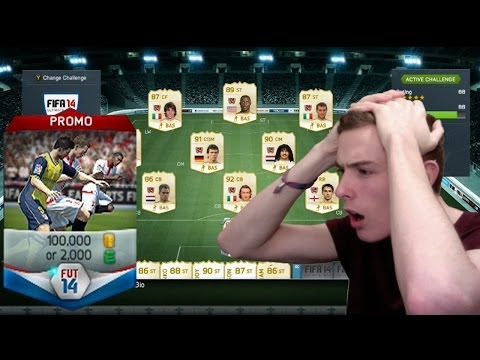 FIFA 14 NEXT GEN - INSANE 100K PACK w/ MY BEST PLAYER YET! (worth 800k)