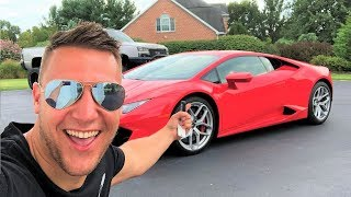 TAKING DELIVERY OF A LAMBORGHINI HURACAN!!! My McLaren Replacement?!?