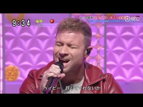 Backstreet Boys - Chances & Shape of My Heart  Sukkiri Japan