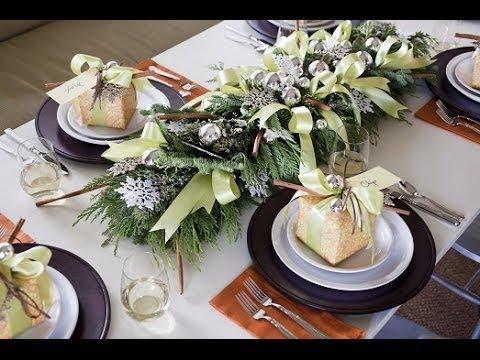 праздничная сервировка стола в картинках