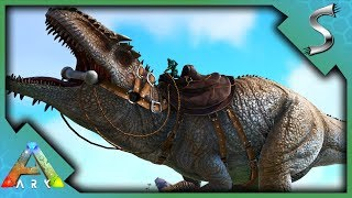 SOLO GIGANOTOSAURUS TAMING! GIGA TRAP METHOD! - Ark: Survival Evolved [S3E110]