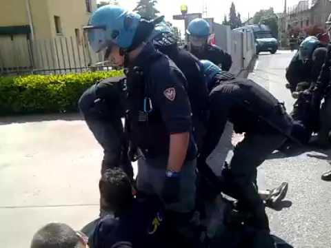 [GLS, BERGAMO]: SCIOPERO E INTERVENTO DELLA POLIZIA CONTRO I LAVORATORI