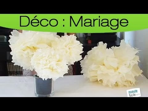 apprendre faire des centres de table pour des mariages youtube. Black Bedroom Furniture Sets. Home Design Ideas