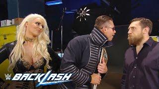Intercontinental Champion The Miz berates GM Daniel Bryan before defending his title: Backlash 2016