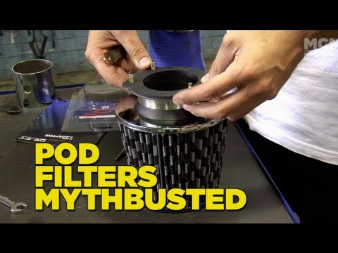 Mighty Car Mods - POD Filters Mythbusted
