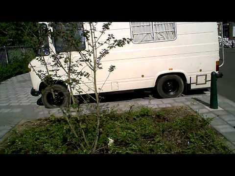 CHEVROLET SUBURBAN + merc 407 D camper van + MAN 6x6 truck