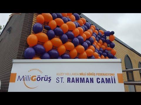 Amersfoort Rahman Camii Restore ve Yeni Mescit Açılışı