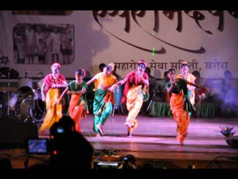 Swaranandwan (anandwan Orchestra) - Blind Girls Dancing To Koli Geet video