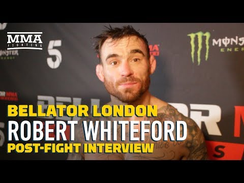 Emotional Robert Whiteford Reveals Marriage Breakdown, Battle With Alcohol - MMA Fighting