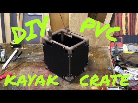 DIY PVC Kayak Crate