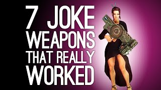 7 Joke Weapons That Were Surprisingly Effective: Commenter Edition