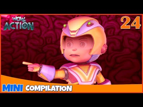 Vir The Robot Boy | Mini series | Compilation - 24 | 3D cartoon for kids | WowKidz Action