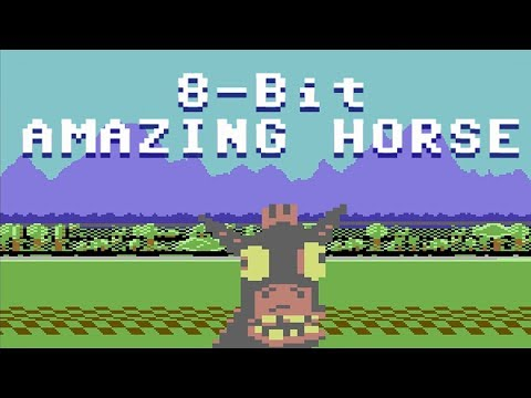 8 Bit Amazing Horse : Animated Music Video : Mrweebl video
