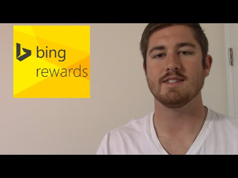 how to get free bing rewards credits