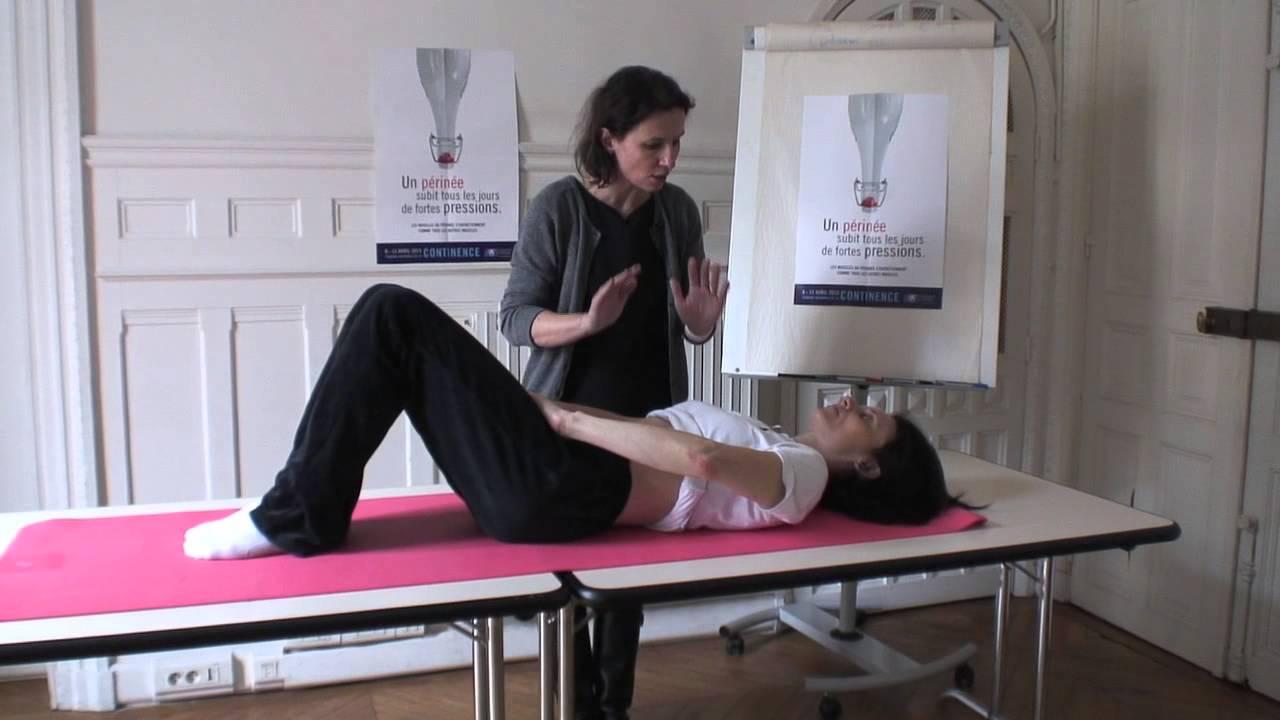 Exercices des muscles abdominaux préservant le périnée ...