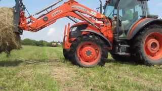 KUBOTA m9540 engine sound || dźwięk silnika