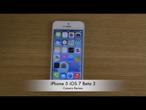 iPhone 5 iOS 7 - Camera Review
