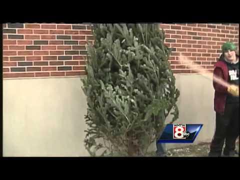 Cheverus High School sells wreaths for Haiti
