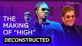 "The Making Of Young Thug & Elton John's ""High"" With Stelios 