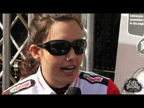 Ashley Force Hood Interview Video