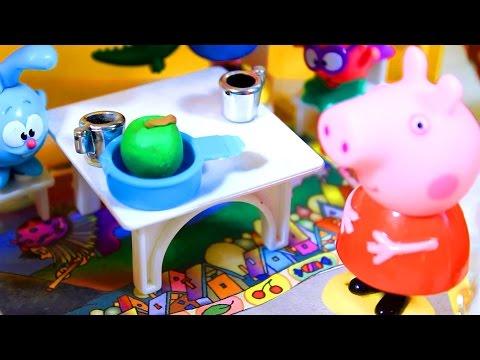 Свинка Пеппа. В гостях у Бабы Яги  2 серия  Мультфильм для детей