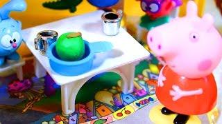 Свинка Пеппа.  Peppa Pig. В гостях у Бабы Яги  2 серия  Мультфильм для детей