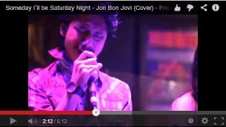 Someday I´ll be Saturday Night - Jon Bon Jovi (Cover) - Frenz Band at The Tavern, Jakarta, Indonesia