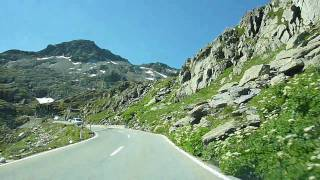 Switzerland 168 (Camera on board): Col du Grand-St-Bernard [Bourg-St-Pierre-Sommet]