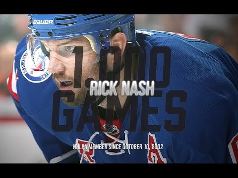 A tribute to Rick Nash's 1,000th NHL game
