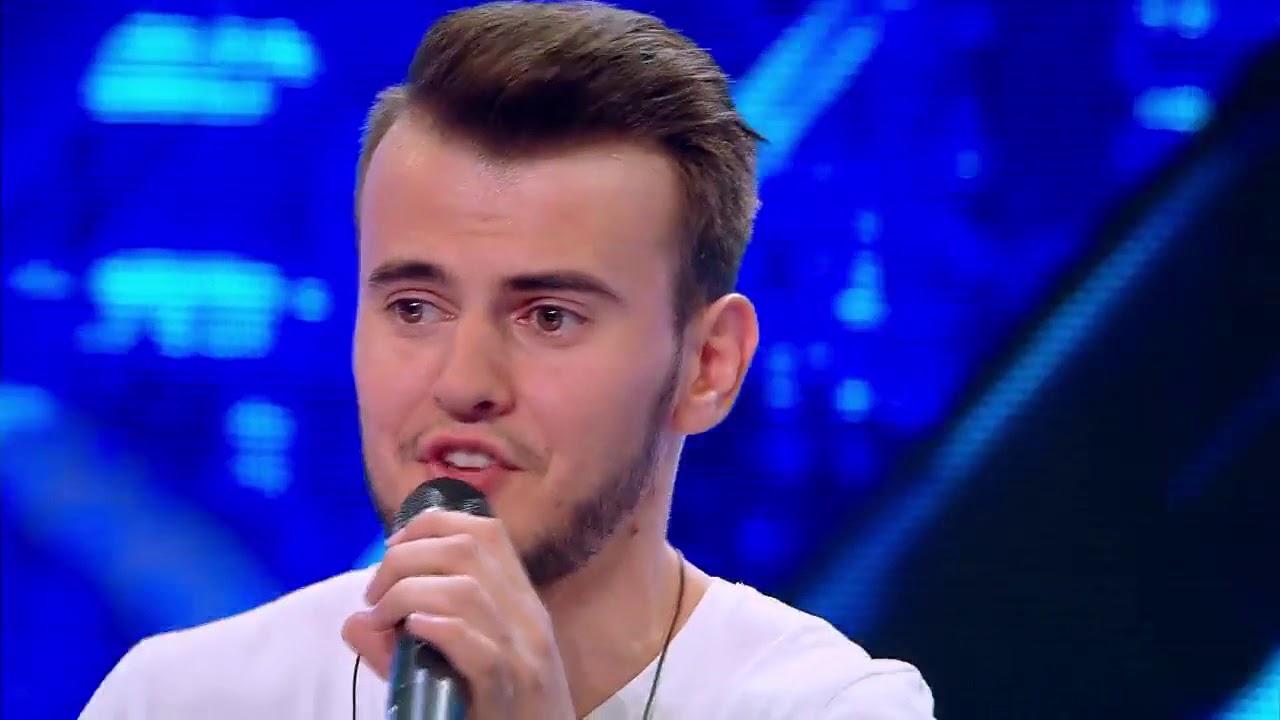 "Guz - ""Buburuza"". Vezi interpretarea lui Sergiu Neagu, la X Factor!"