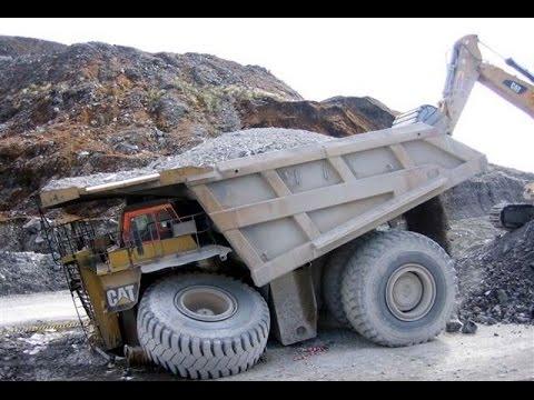 Аварии строительной техники - видео экскаваторов, грузовиков и самосвалов