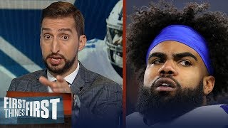 Should Cowboys consider trading Ezekiel Elliott after Day 6 of holdout? | NFL | FIRST THINGS FIRST