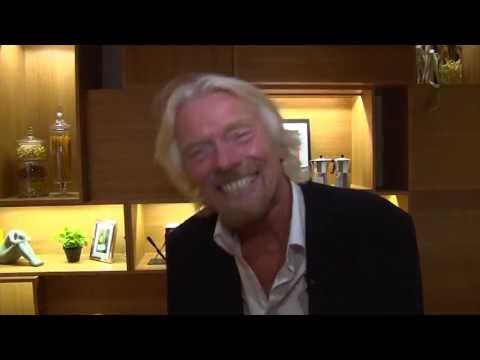 Sir Richard Branson - How can you be so happy all the time?